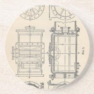 Mechanic's Pocletbook Coaster