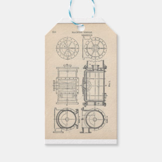 Mechanic's Pocletbook Gift Tags