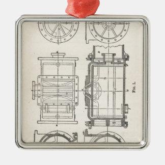 Mechanic's Pocletbook Metal Ornament