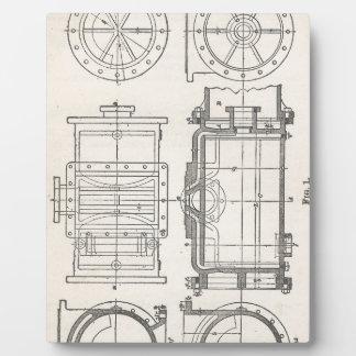 Mechanic's Pocletbook Plaque