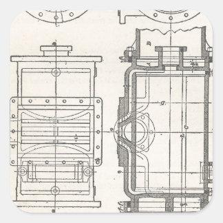 Mechanic's Pocletbook Square Sticker