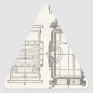 Mechanic's Pocletbook Triangle Sticker