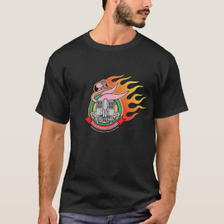 MechCorps: UNcivil Wars Flaming Flamingoes tshirt