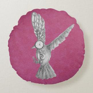 Mecho Bird Round Cushion