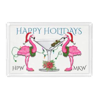 Med-Lg Happy Holidays Tray #holidayZ