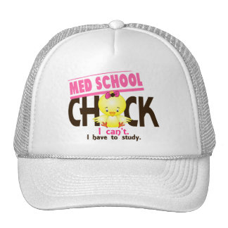 Med School Chick 1 Mesh Hat