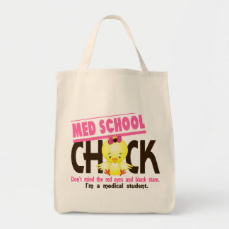 Med School Chick 2 Canvas Bags