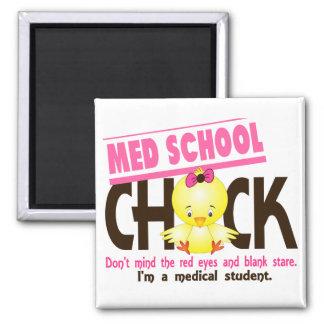 Med School Chick 2 Fridge Magnet