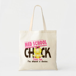Med School Chick 3 Budget Tote Bag