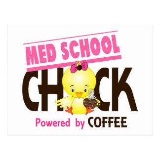Med School Chick 4 Postcard