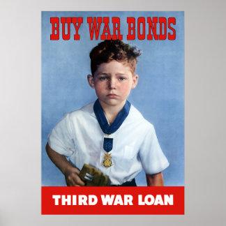 Medal Of Honor Child -- Buy War Bonds Poster