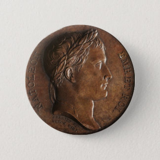 Medal of Napoleon Bonaparte 6 Cm Round Badge