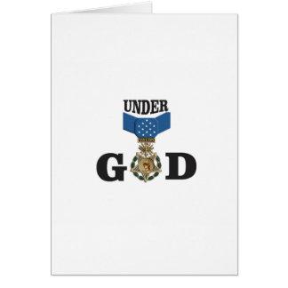 medal under god card