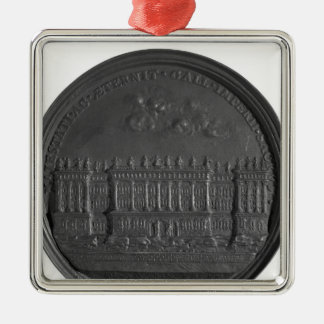 Medal with Bernini's design for the Louvre Metal Ornament