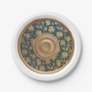 Medallion Paper Plates 7 Inch Paper Plate