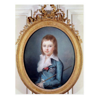 Medallion Portrait of Louis-Charles Postcard