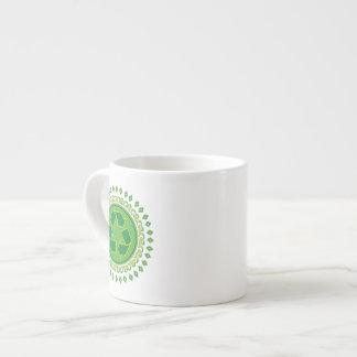 Medallion Recycle Symbol Espresso Mugs