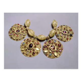 Medallions from 'Barmy Collar' Postcard