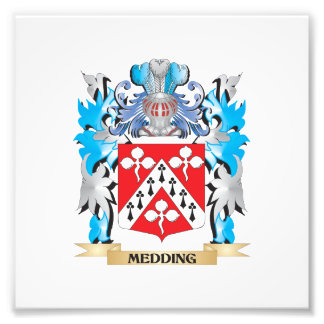 Medding Coat of Arms - Family Crest Art Photo