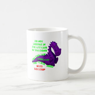 Meddling In Dragon Affairs Coffee Mug