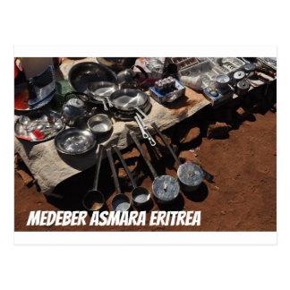 Medeber Asmara Eritrea Postcard