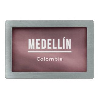Medellin Colombia Rectangular Belt Buckle