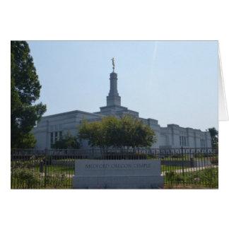 MEDFORD TEMPLE CARD