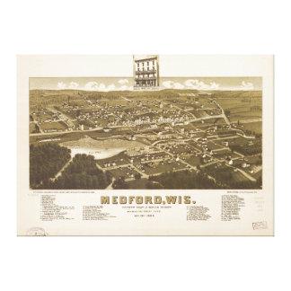 Medford Wisconsin (1885) Canvas Prints
