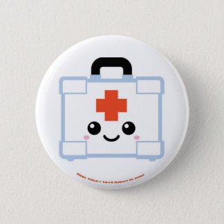 Medi Pals First Aid Kit 6 Cm Round Badge
