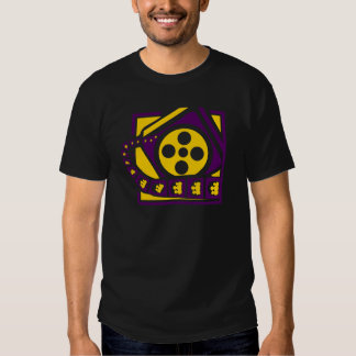 Media Film Reel T-shirt