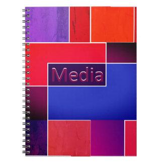 Media Notebook Warm
