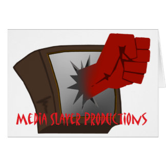 MEdia Slayer Accesories Greeting Card