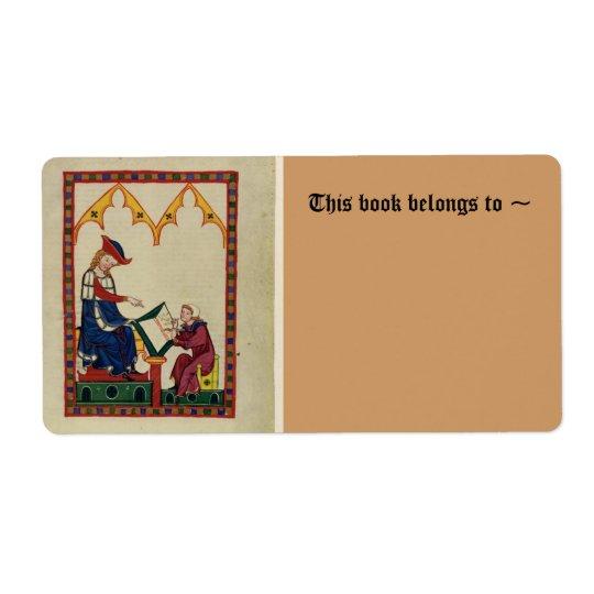 Mediaeval bookplate