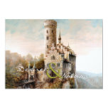Mediaeval Castle Wedding Invitation 13 Cm X 18 Cm Invitation Card
