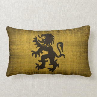 Mediaeval Gold Pillow