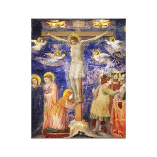 Mediaeval Good Friday Scene Canvas Print