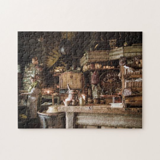 Mediaeval Kitchen Jigsaw Puzzle