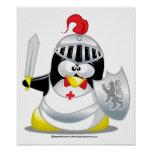 Mediaeval Knight Penguin