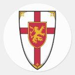 Mediaeval Knights Shield Sticker
