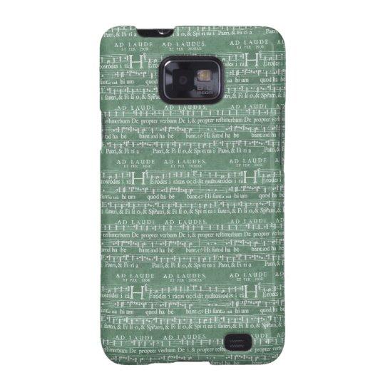 Mediaeval Music Manuscript Samsung Galaxy S2 Case
