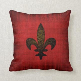 Mediaeval Red Velvet Cushion