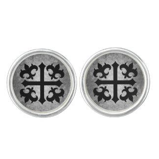 Mediaeval symbol elegant cufflinks