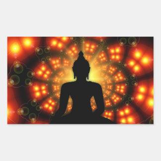 Mediating Buddha Spiritual Enlightenment Sticker