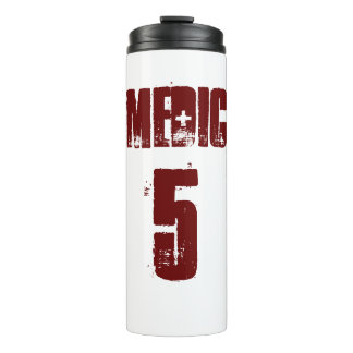 Medic 5 Gym Mug Thermal Tumbler