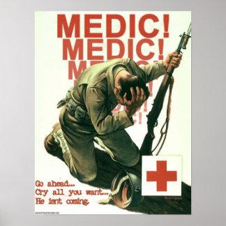 Medic! Poster