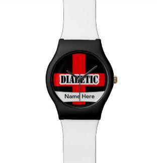 Medical Alert Diabetic  Emergency Watch