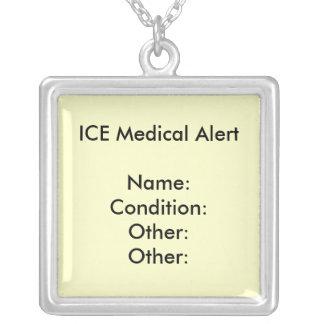 MEDICAL ALERT NECKLACE ~ Customize!