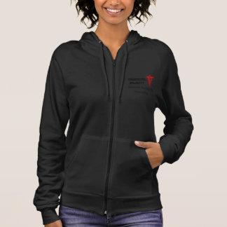 medical alert womens hoodie