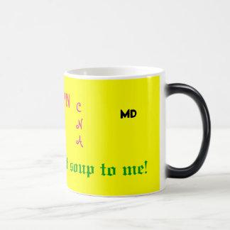 Medical Alphabet Soup Magic Mug