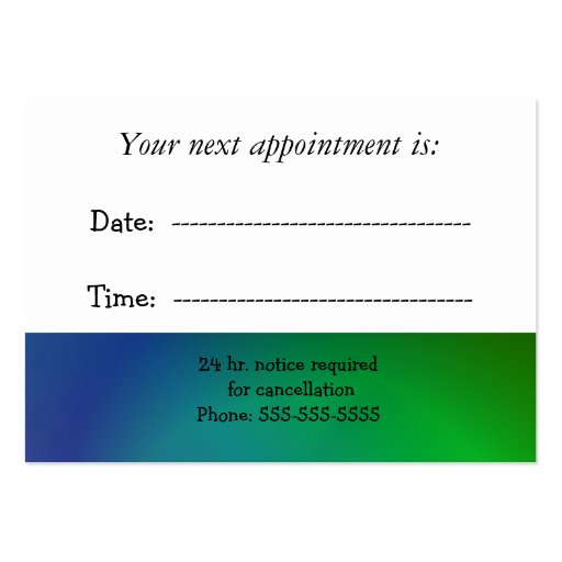 Medical appointment cards templates bing images for Medical appointment card template free